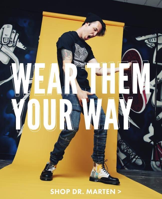 Wear Them Your Way. Shop Dr. Marten