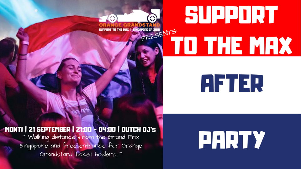 Support to the Max After Party