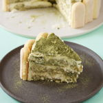Matcha Tiramisu Cake