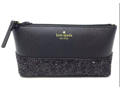 "Kate Spade Black Greta Court ""Little Shiloh"" Clutch"