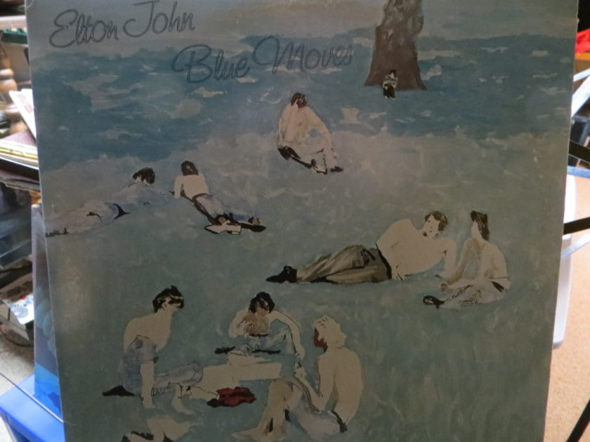 ELTON JOHN - BLUE MOVES 2 record set