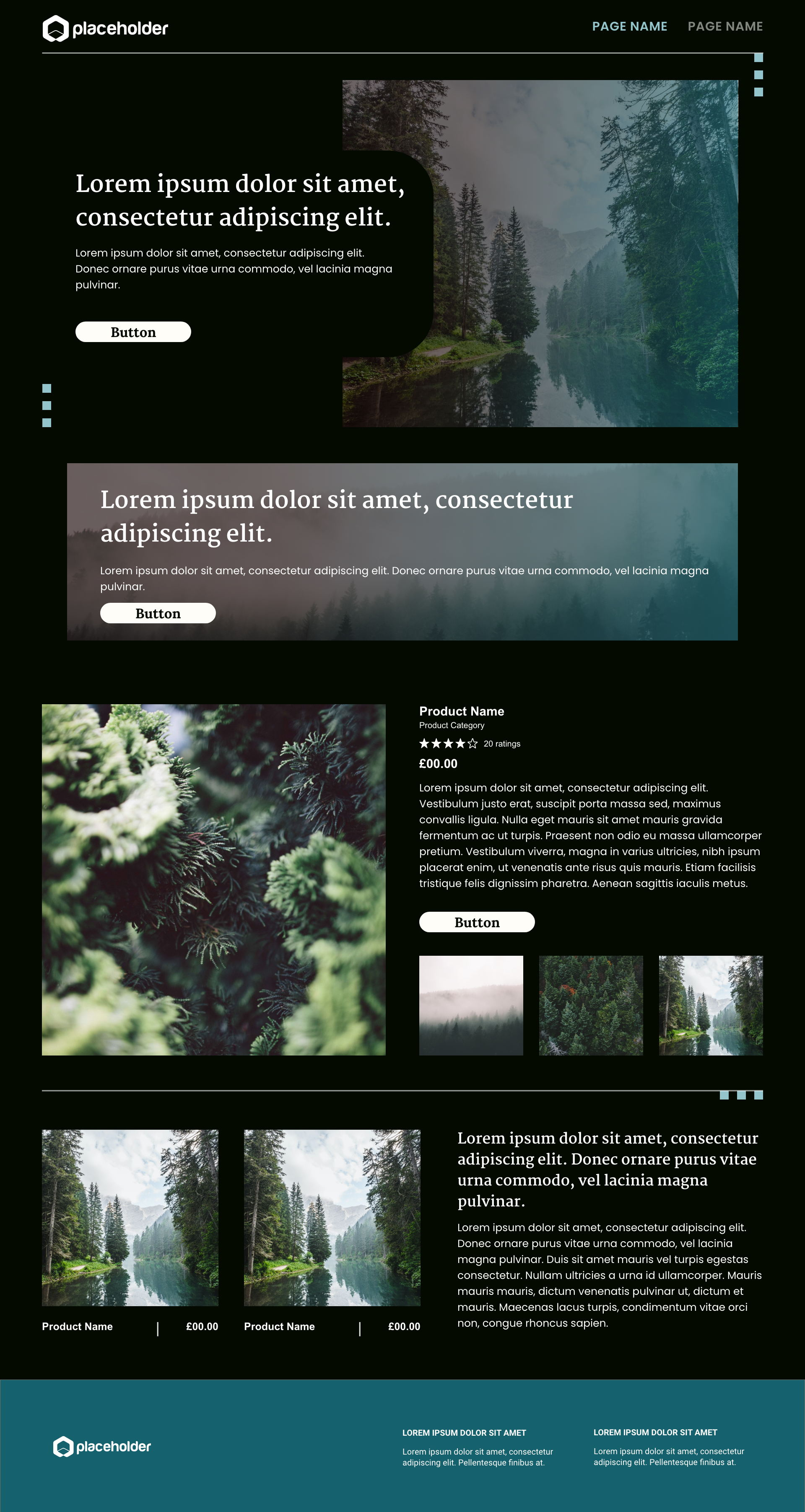 Evergreen template's gallery image