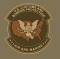 Air and Marine Operations logo
