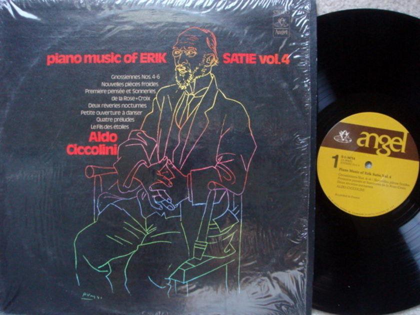 EMI Angel / CICCOLINI,  - Satie Piano Music Vol.4,  MINT!