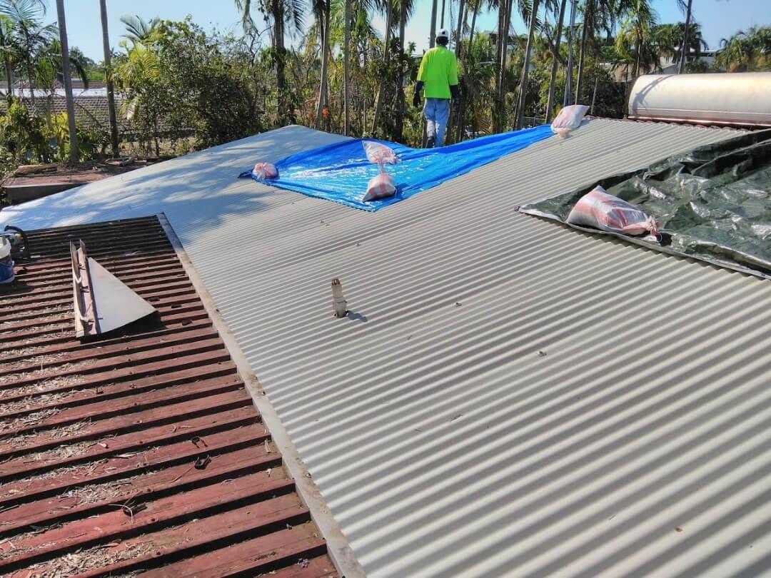 Quick Turnaround Roof Replacement Darwin