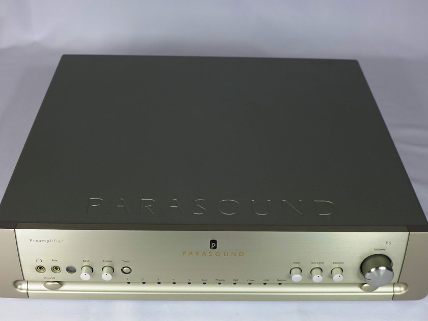 Parasound P5 Preamp Silver MINT