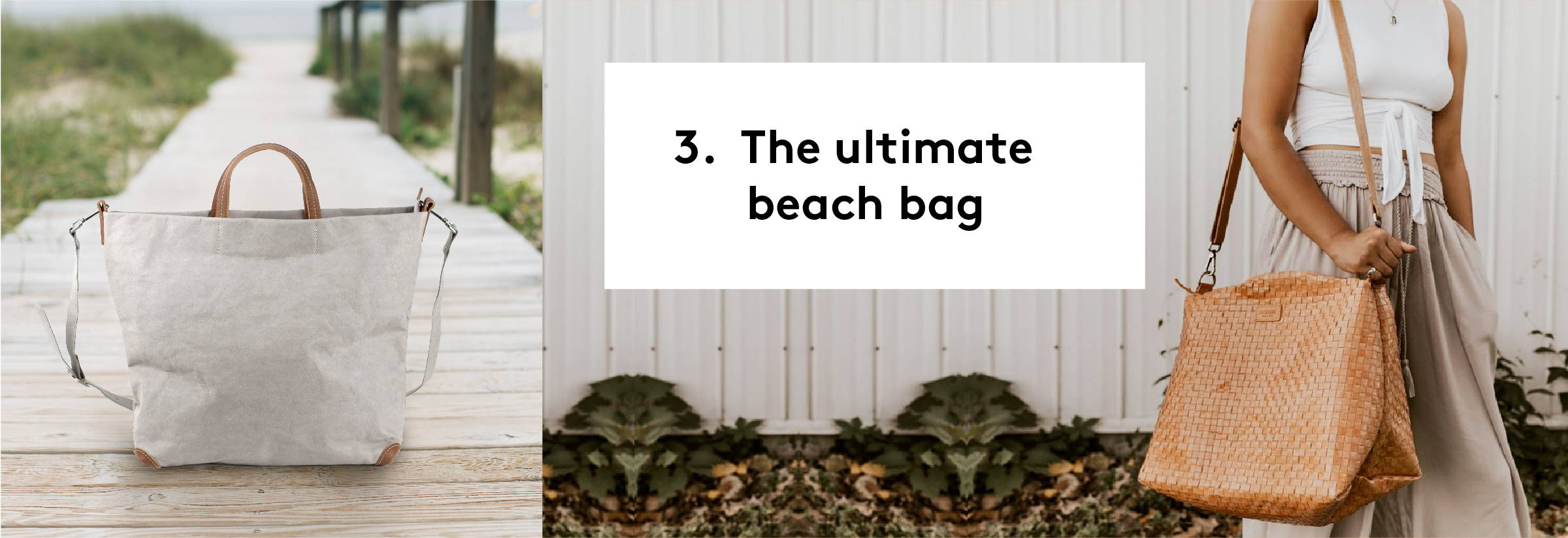Get the ULTIMATE BEACH BAG from UASHMAMA!