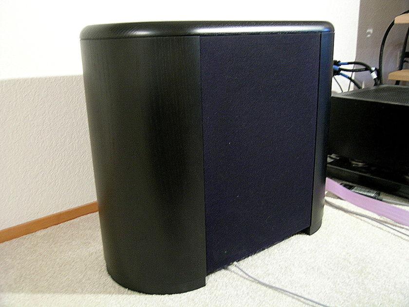 Audio Physic Minos Black ash subwoofer w/remote