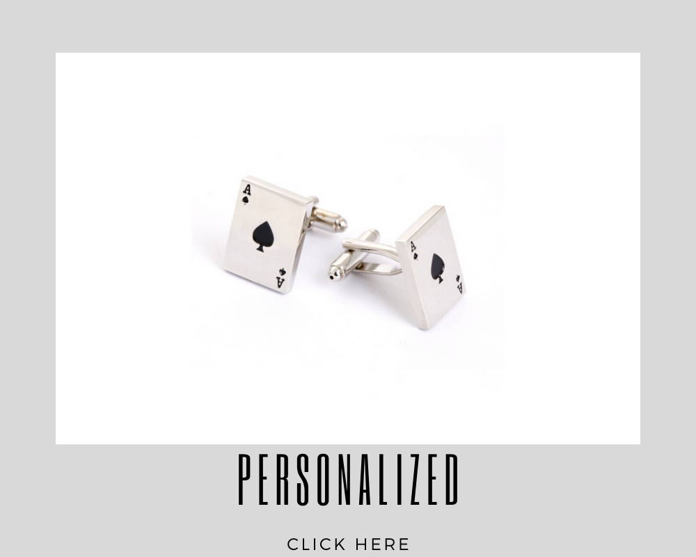 Corporate Custom Personalized Cufflinks