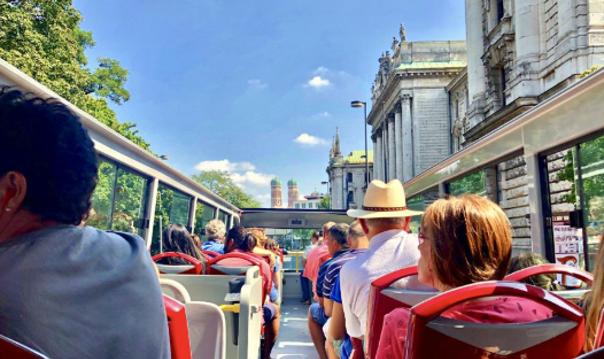 Автобусный тур по Мюнхену. Hop-on hop-off: билеты на 1 или 2 дня
