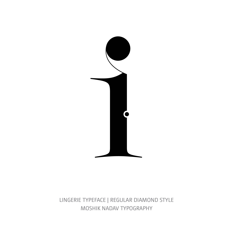 Lingerie Typeface Regular Diamond i