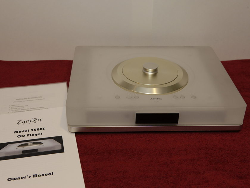 Zanden 2500s tube cd player analog sounding digital
