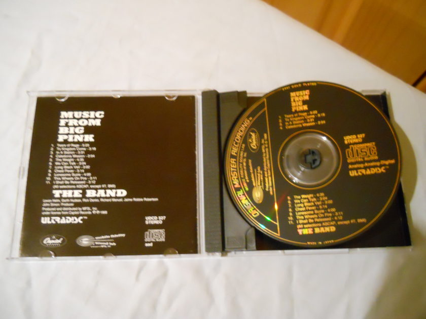The Band - Music From The Big Pink MFSL Ultradisc Gold CD UDCD 527