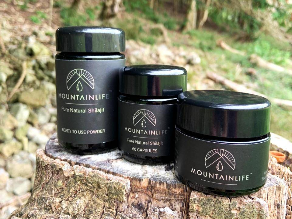 collection of mountainlife shilajit range