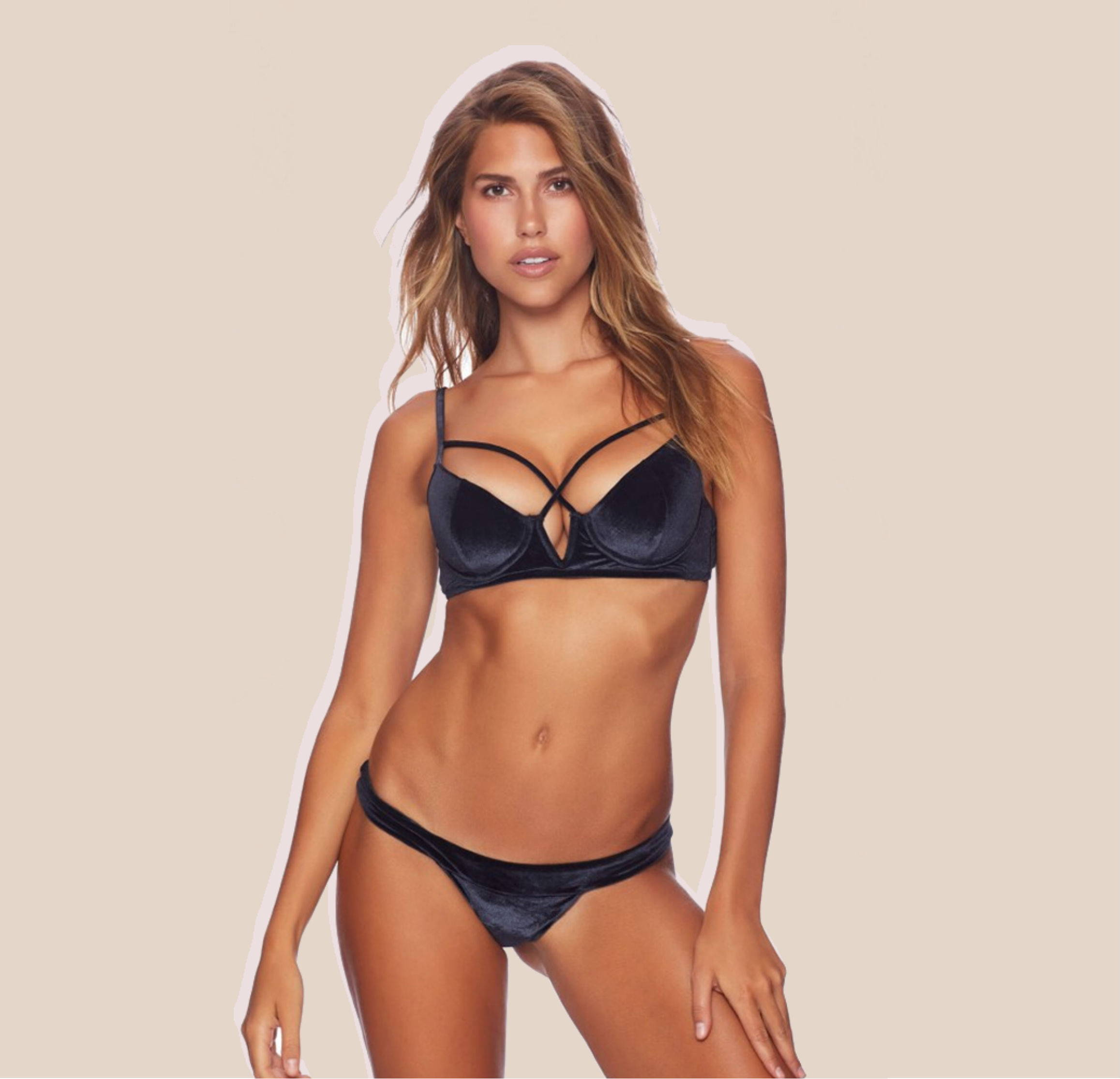 Beach Bunny Dylan Underwired Bikini Top + London Bikini Bottom