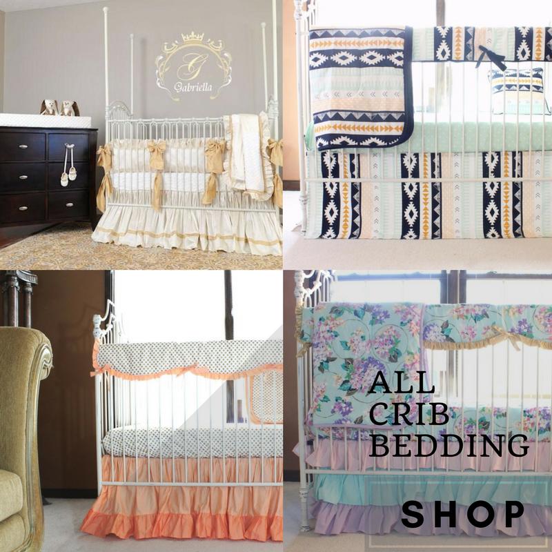 Designer baby bedding sets