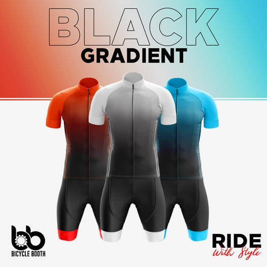 cycling bike black gradient collection