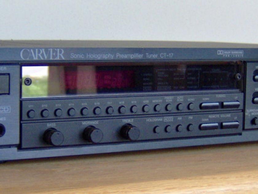 Carver CT-17 w/ FREE CARVER CD Player