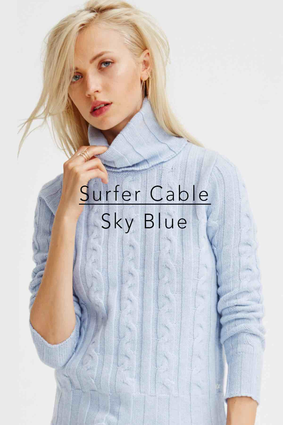 Surfer Cable Sky Blue