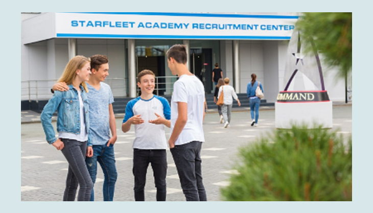 movie park germany starfleet academy recruitment center