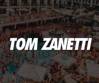 info and tickets Tom Zanetti at Ibiza Rocks Hotel