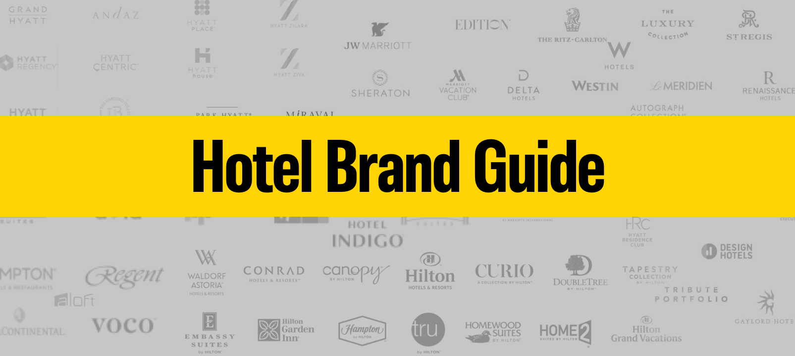Hotel Brands Chains Marriott Hyatt Hilton Ihg Who Owns What
