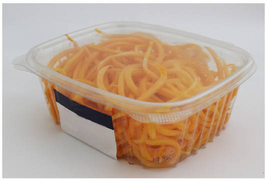 multiuse container prior to makeover to plant based food packaging, canada