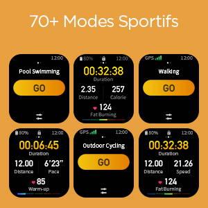 Amazfit GTS 2 mini - 70+ Modes Sportifs