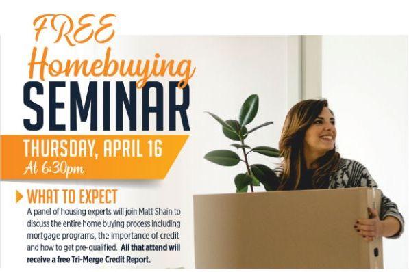 Free Homebuying Seminar