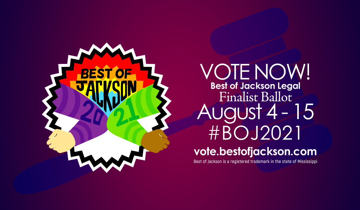 Welcome to Best of Jackson 2021 - Legal Finalist Ballot