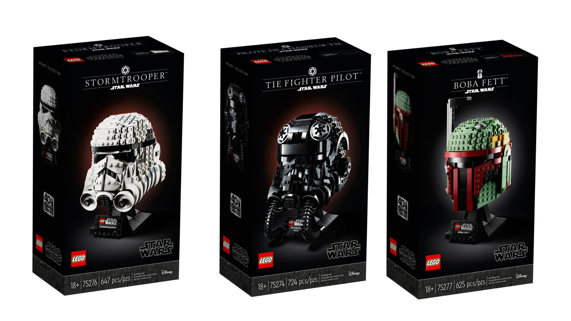 Lego Gets It Designs New Star Wars Kits And Packaging Aimed At Adults Dieline Design Branding Packaging Inspiration