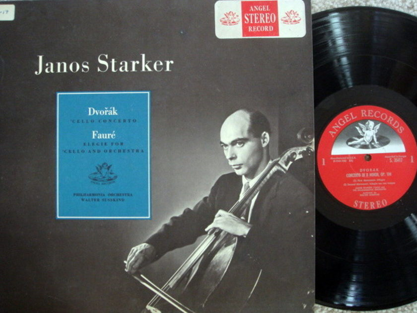 EMI Angel Semi-Circle / JANOS STARKER, - Dvorak Cello Concerto, NM!