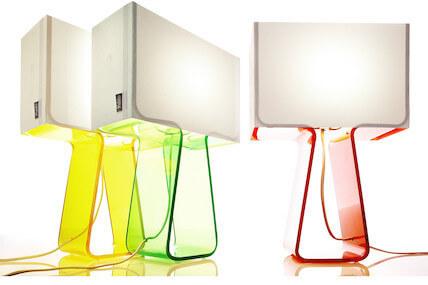 Pablo Tube Top Color Lamp