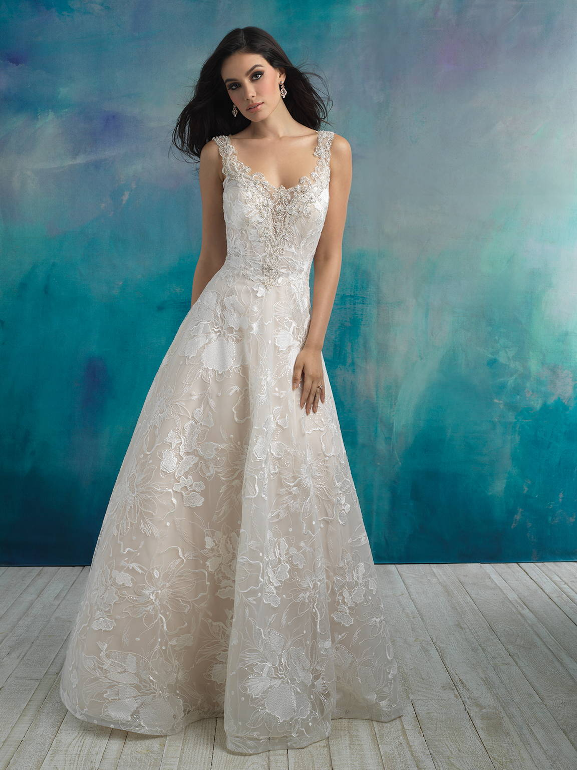 ALLURE  WEDDING DRESS 9512
