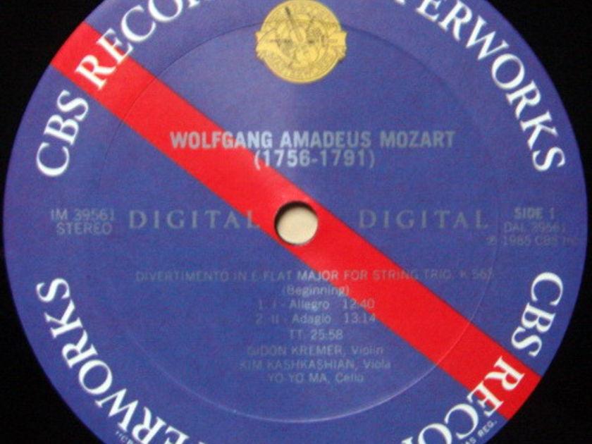 CBS Digital / YO-YO MA-KREMER, - Mozart divertimento, MINT!