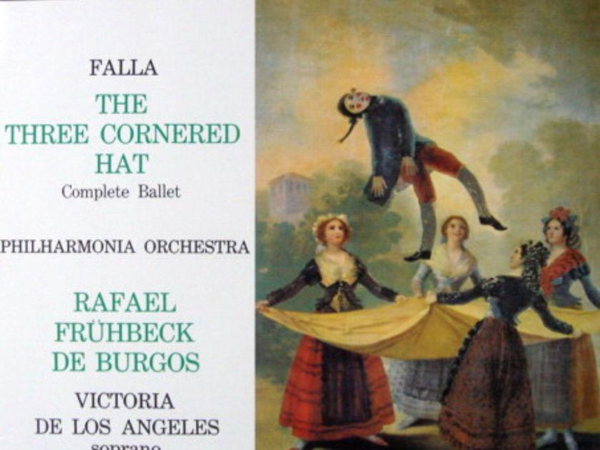 ★Audiophile 180g★ EMI-Alto / BURGOS, - Falla The Three-Cornered Hat, MINT(OOP)!
