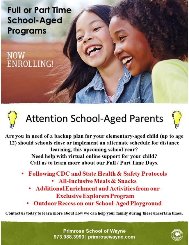 School Aged Program