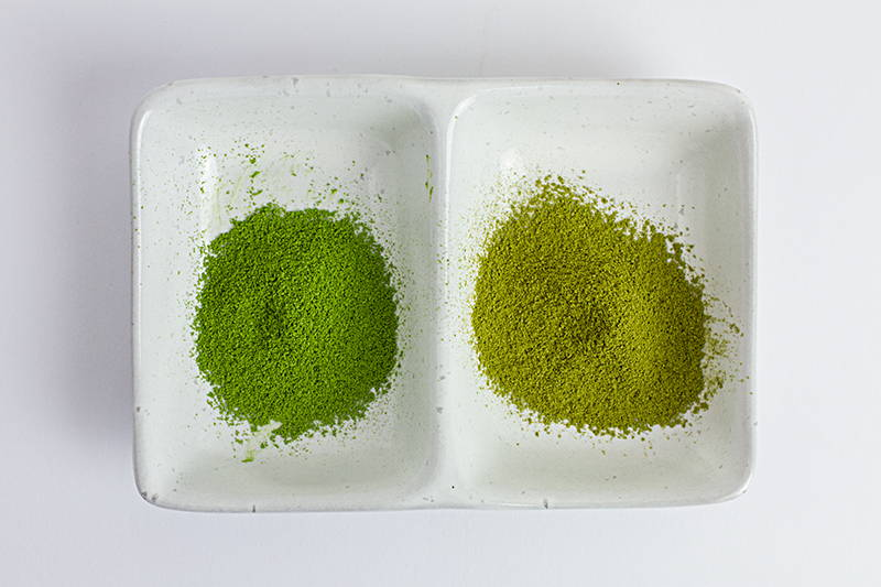 matcha oxidation change in colour