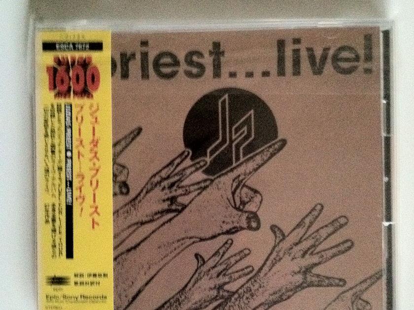 judas priest - live japan cd