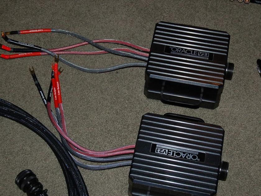 mit oracle V 2.1 12 ft bi-wire MIT oracle V 2.1