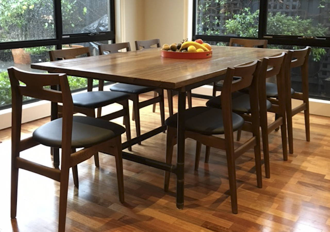 Timber Tables and Chairs