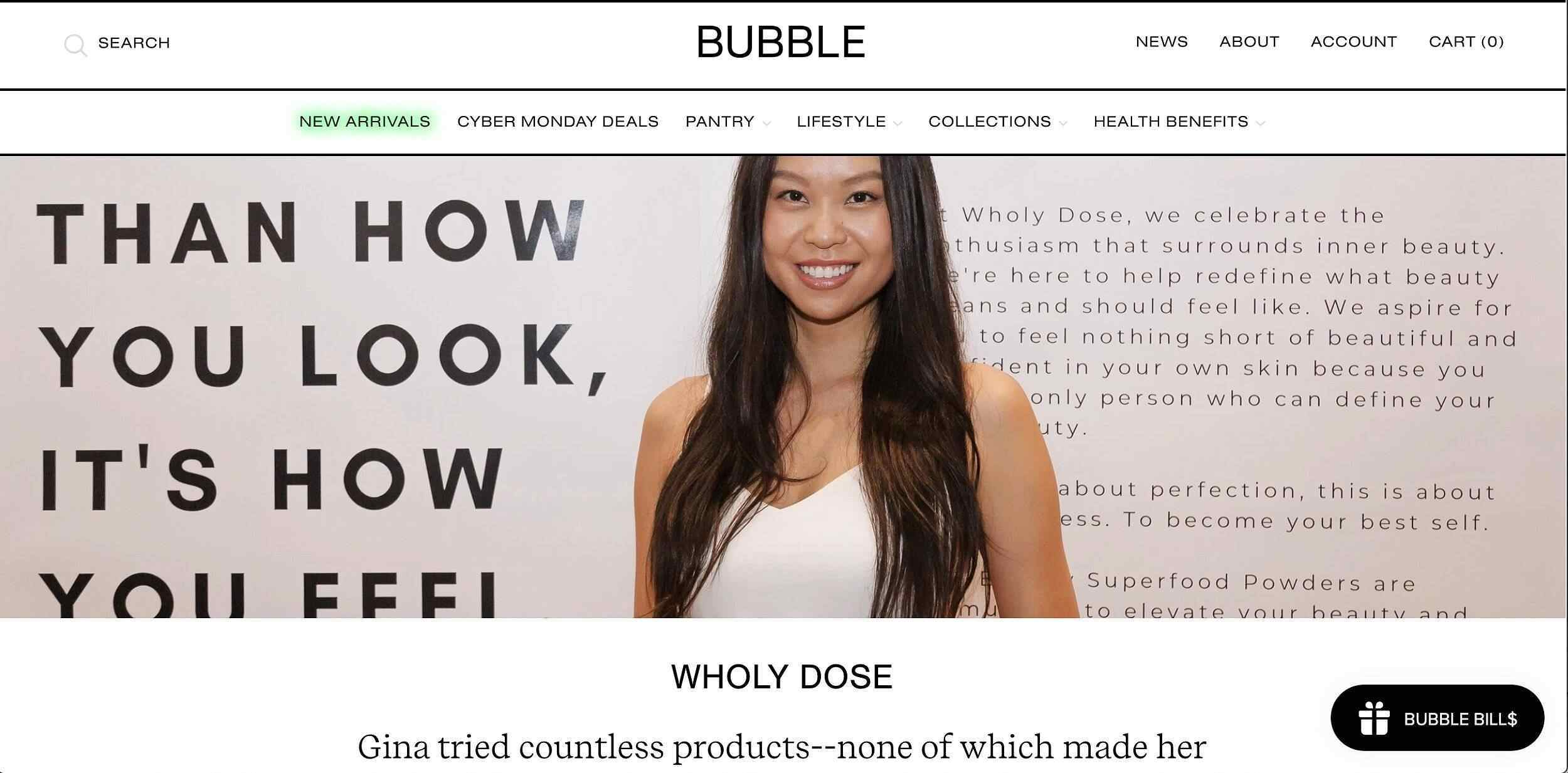 bubble-goods-marketplace-brands-collagen-female-founders-wholy-dose