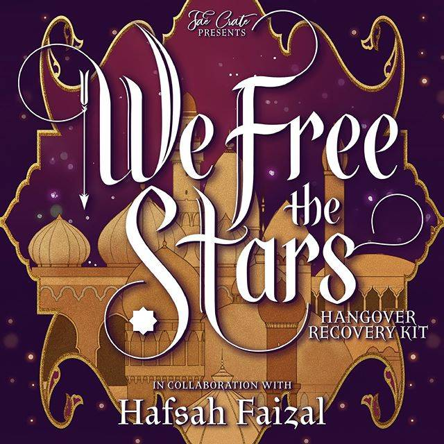 Fae Crate Presents We Free the Stars Hangover Recovery Kit in Collaboration with Hafsah Faizal