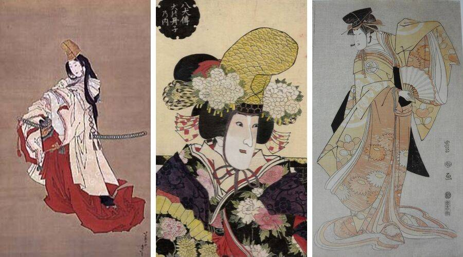 Shirabyoshi dancers including Shizuka Gozen