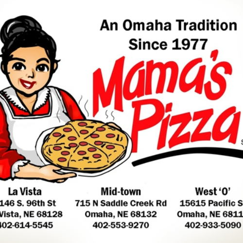 Picture of Mama's Pizza locations are selling takeout food with curbside service.