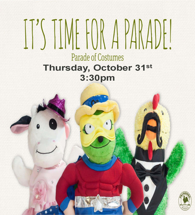 Parade of Costumes and Party