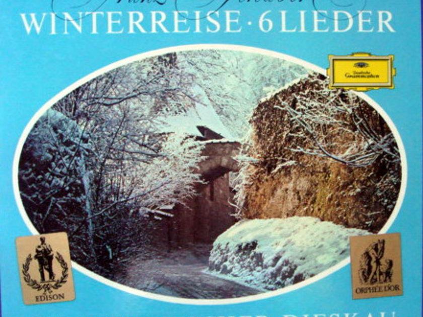 DG / FISCHER-DIESKAU-DEMUS, - Schubert Winterreise, MINT, 2LP Box Set!