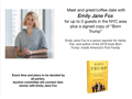Meet and Greet with Emily Jane Fox