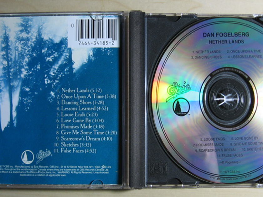 Dan Fogelberg - Nether Lands  - Compact Disc / CD  Epic EK 34185