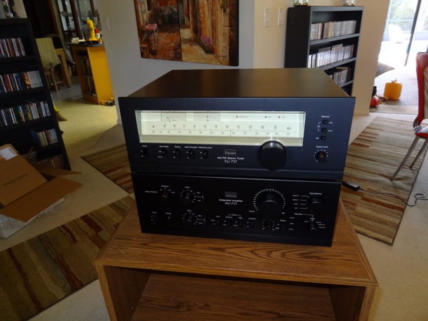 Sansui AU 717 amp and TU 717 tuner I great operational and good cosmetic condition